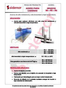 Aceros de alta resistencia y alta tenacidad a baja temperatura
