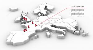 Localizaciones de Sidenor en Europa