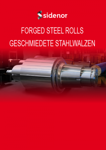 Brochure forged steel rolls