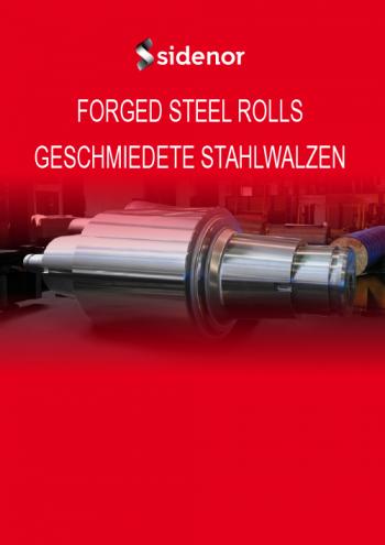 Brochure forged steel rolls