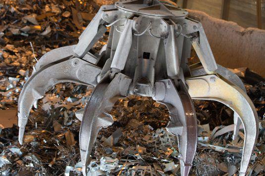 Sidenor reciclaje chatarra