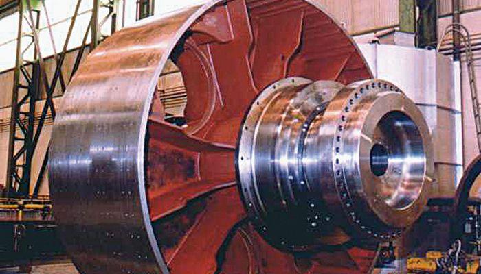 Piezas para el sector de la energía