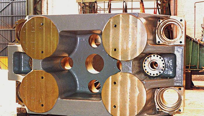 Piezas para el sector de la maquinaria pesada
