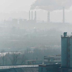 Foto fábricas de fondo