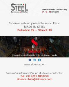 Sidenor Feria Made in steel