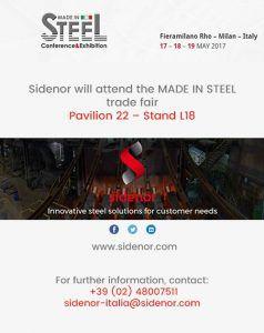 Sidenor Made in steel fair