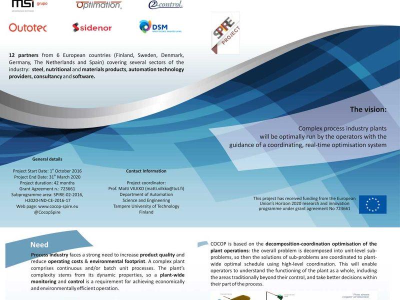 Coordinating Optimisation of Complex Industrial Processes