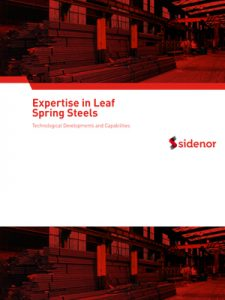 Expertise in leaf spring steels